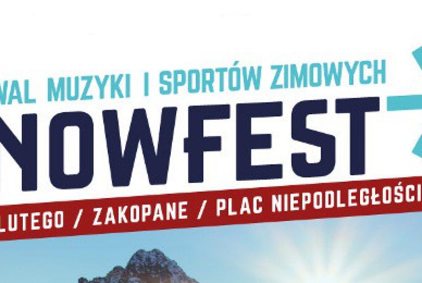 Wygraj karnety na SnowFest w Zakopanem – KONKURS