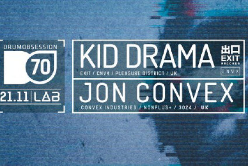 Kid Drama/Jon Convex – dwa sety jednej nocy w Poznaniu ZAMÓW BILETY