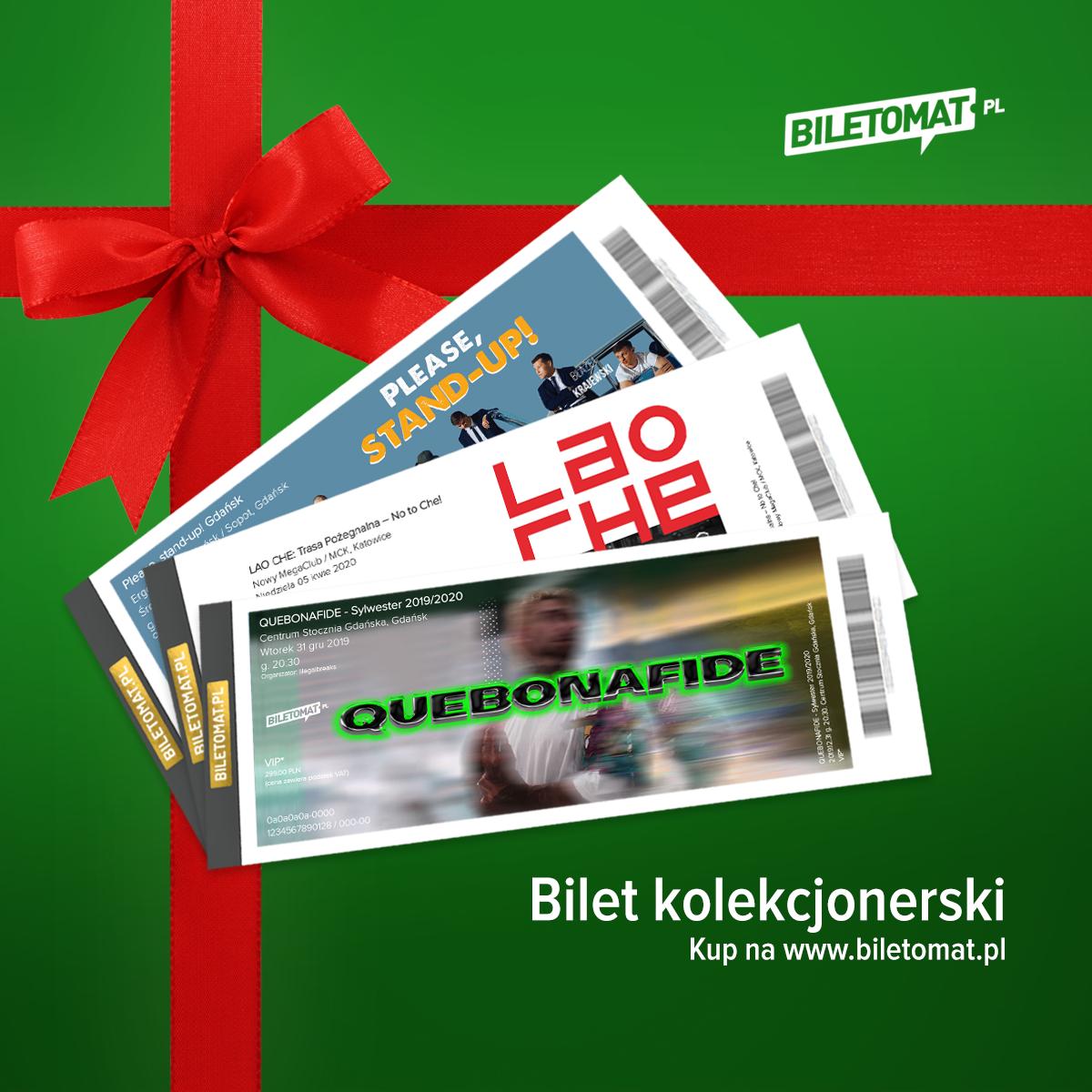 bilety kolekcjonerskie na święta - Biletomat.pl