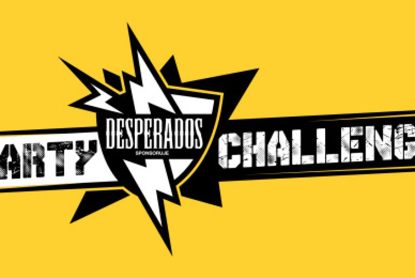 1500m2 i Flirtini zmierzą się w Party Challenge by Desperados