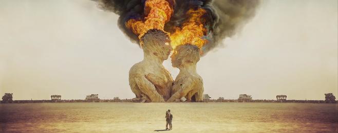 Surrealistyczne wspomnienia z Burning Man VIDEO