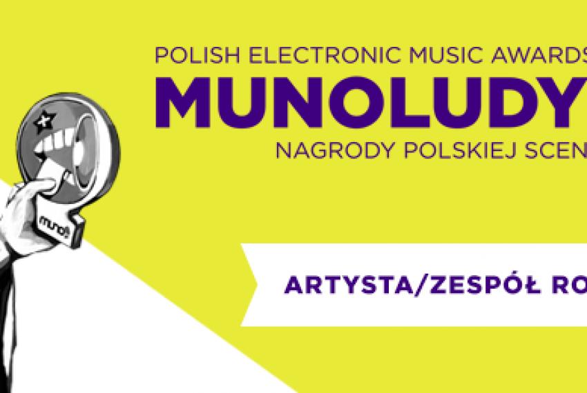MUNOLUDY 2015 – Artysta / Zespół Roku Polska