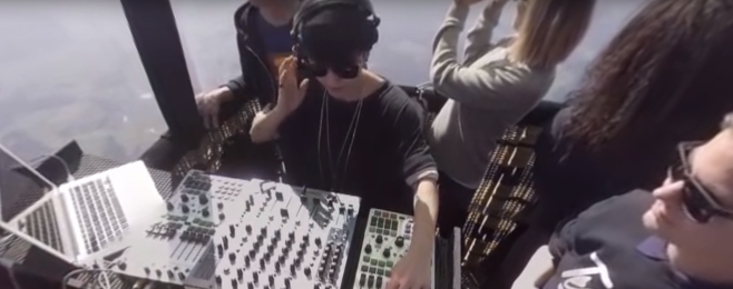 Magda zagrała w chmurach – VIDEO 360°