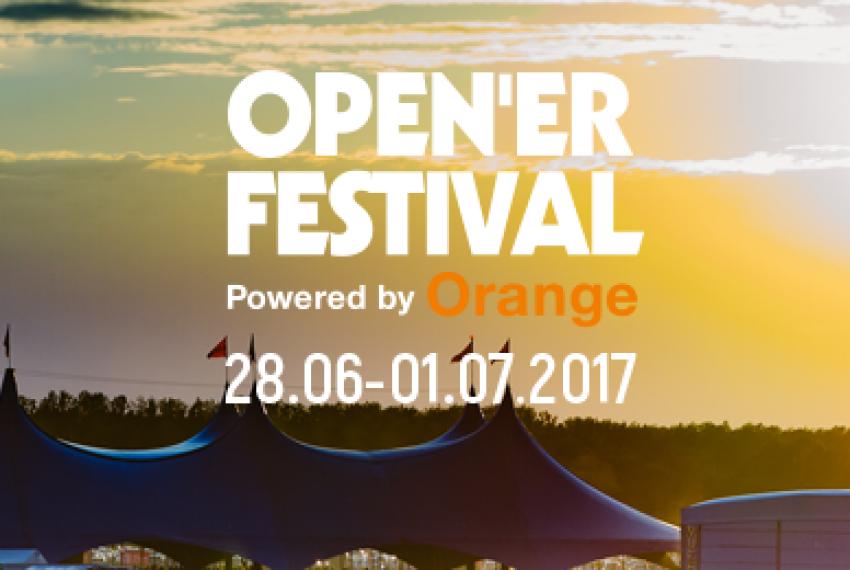 Pierwsi artyści Open'er Festival 2017