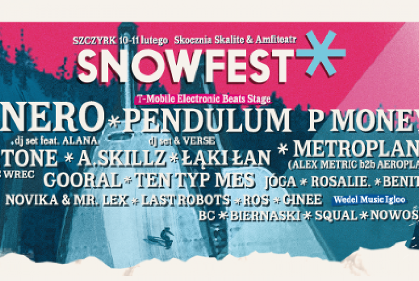 Kto zagra na SnowFest Festival 2017? Zobacz pełny line-up