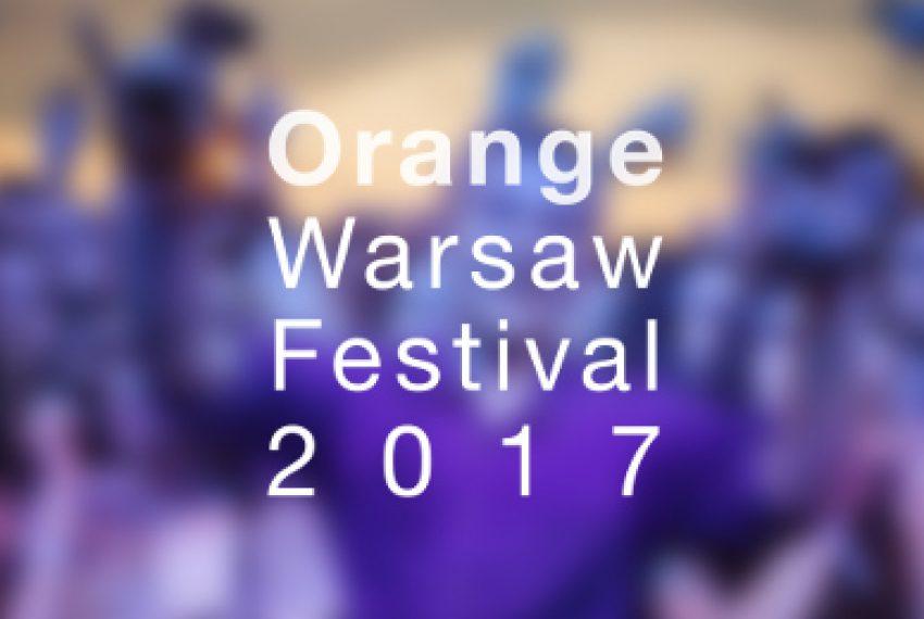 Zaplanuj sobie Orange Warsaw Festival – TIMETABLE