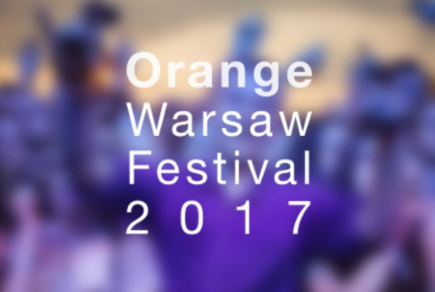 Pełny line-up Orange Warsaw Festival 2017