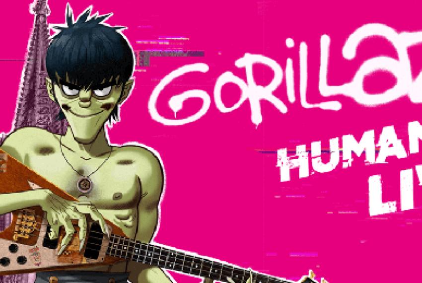 Koncert Gorillaz zobaczysz dziś na żywo w Internecie