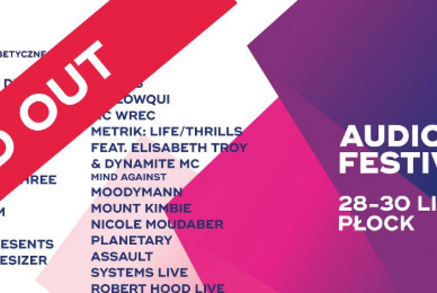 Audioriver Festival wyprzedany!