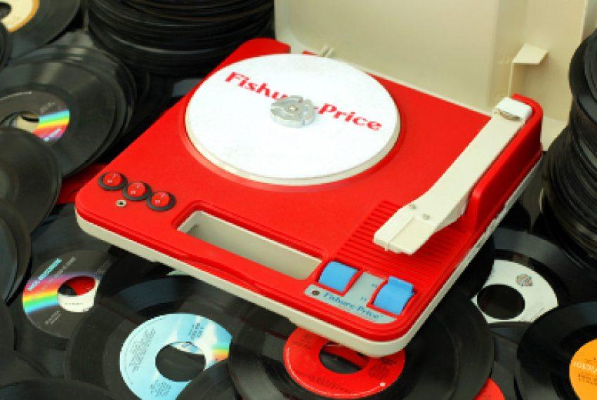 Jak z zabawki zrobić didżejski gramofon?