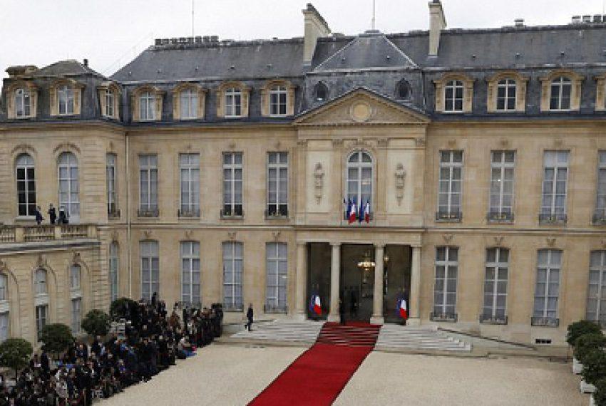 Rave w Pałacu Prezydenckim w Paryżu