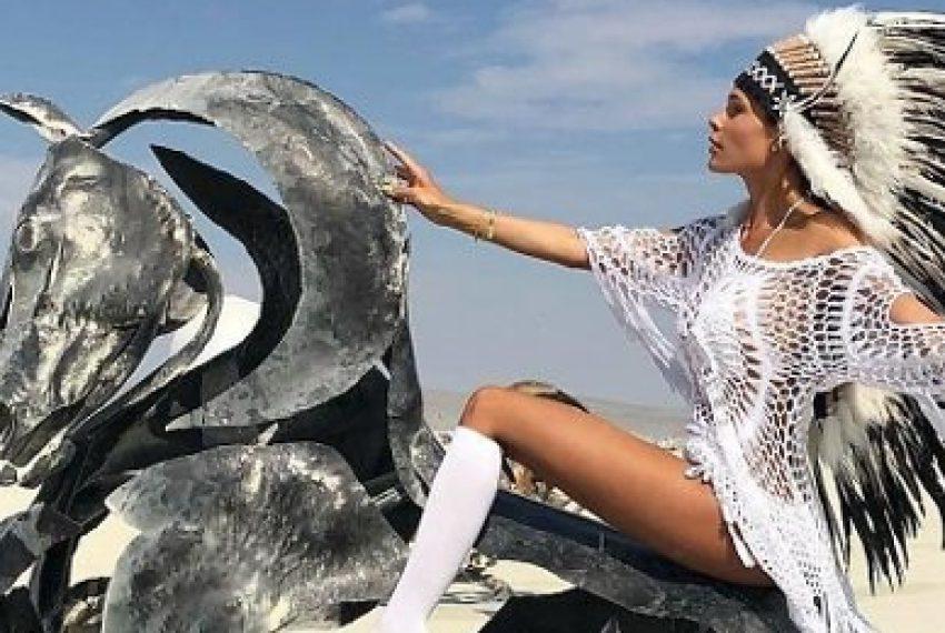 Najlepsze zdjęcia z Burning Man 2018
