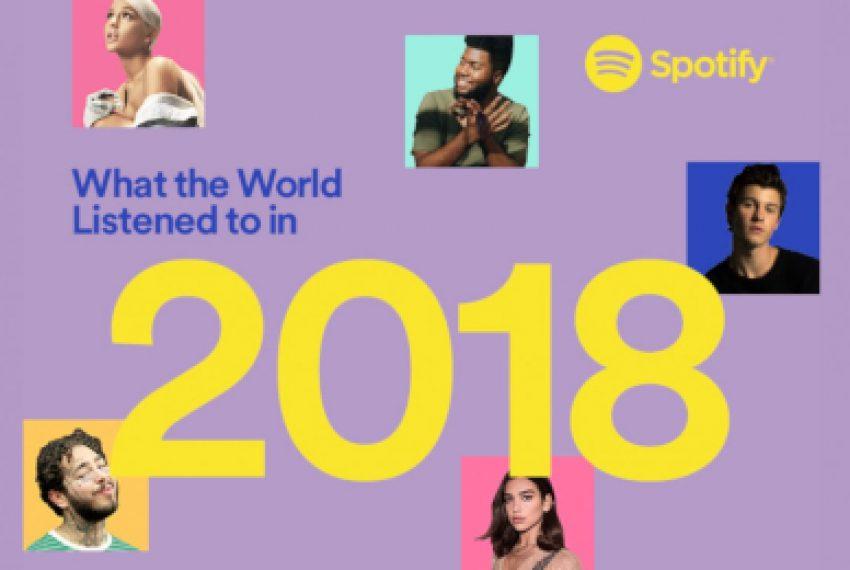 Czego świat słuchał w 2018 roku według Spotify