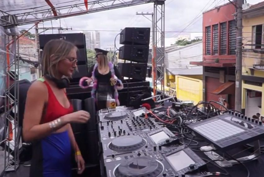 KOKO DJ Set – Bloco D.Rrete Brazil Carnaval 2019 | BE-AT.TV Rewind