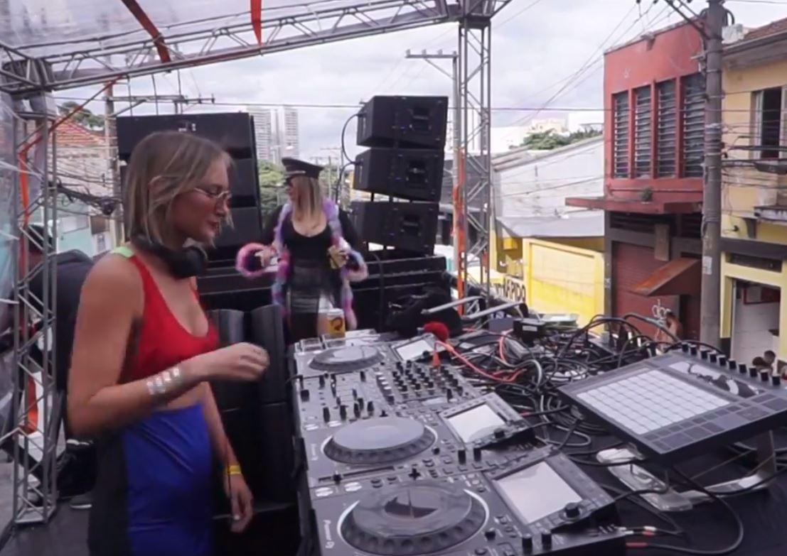 KOKO DJ Set – Bloco D.Rrete Brazil Carnaval 2019 | BE-AT.TV Rewind
