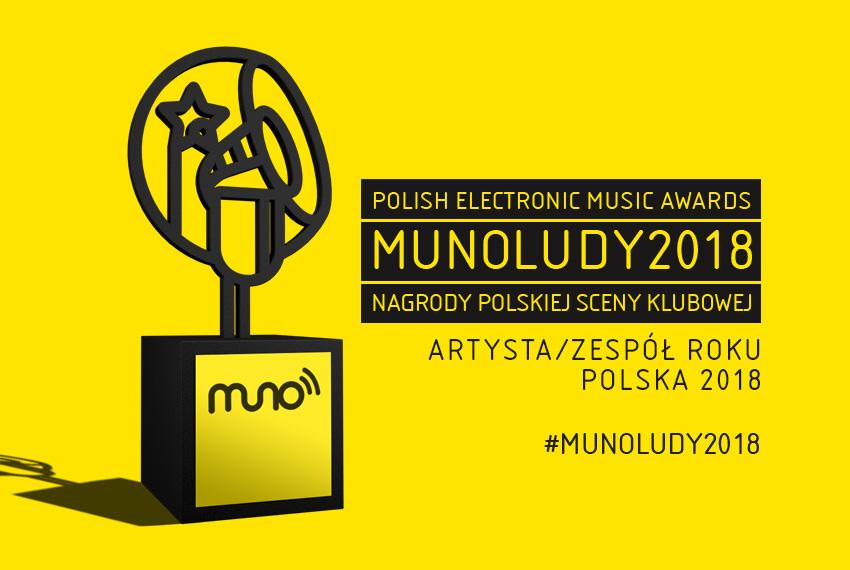 MUNOLUDY 2018: Artysta/Zespół Roku Polska – WYNIKI