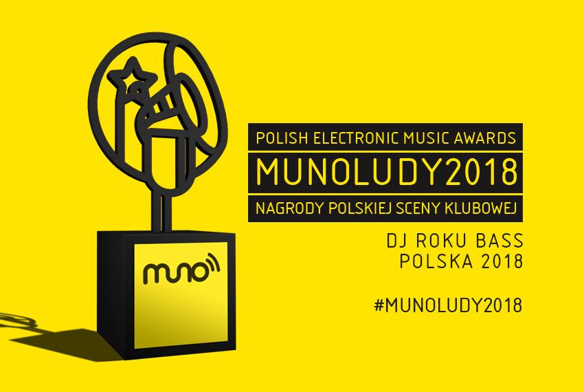 MUNOLUDY 2018: DJ/Live Roku Bass Polska – WYNIKI
