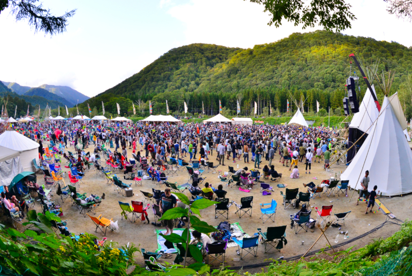 Techno w japońskich górach