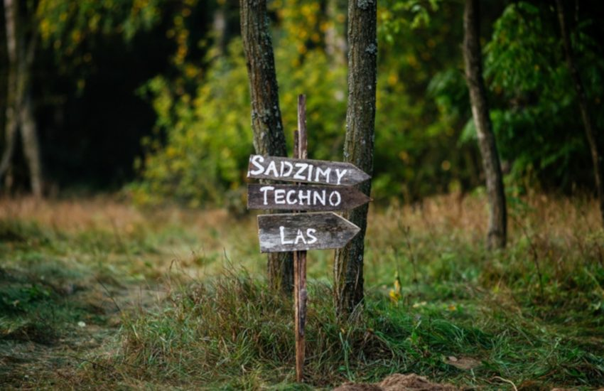 Instytut ponownie sadzi Techno Las!