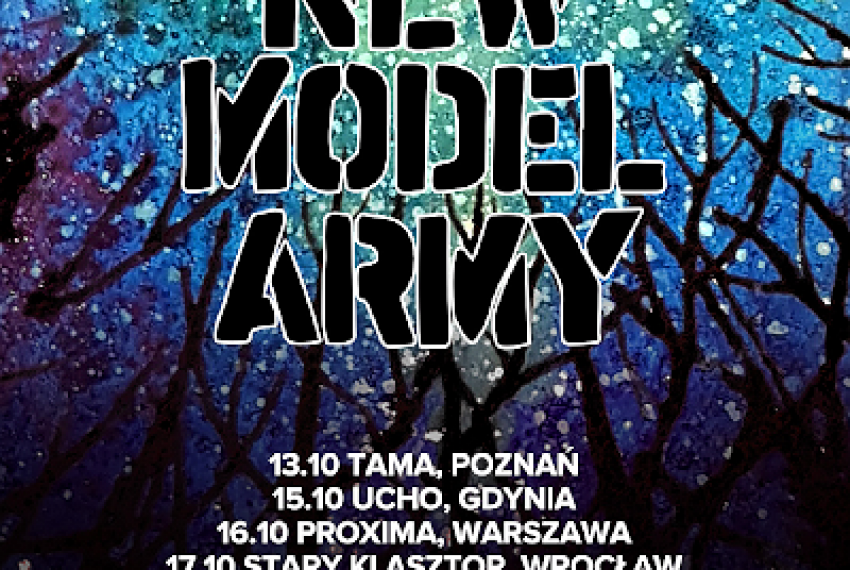New Model Army – Wrocław