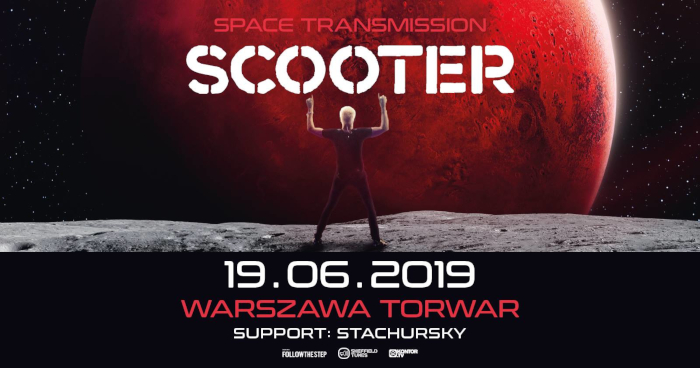 Scooter Space Transmission, support Stachursky Warszawa