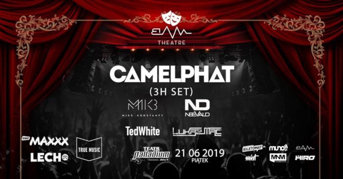 BAM pres. CamelPhat, Warszawa, 21 czerwca, Palladium
