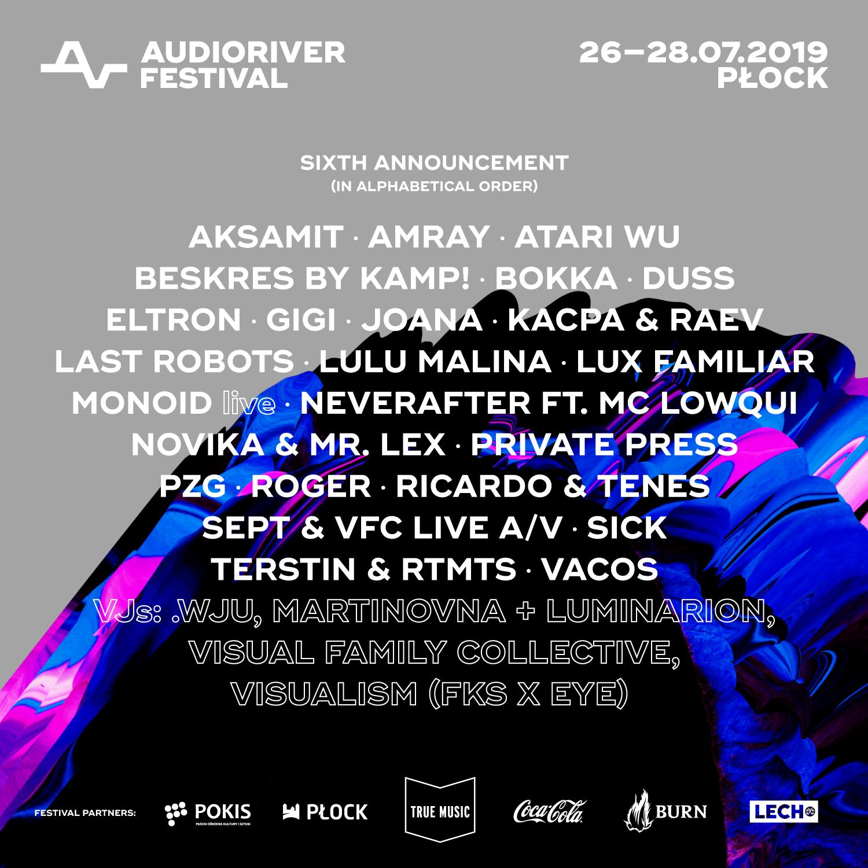 Audioriver 2019 line-up