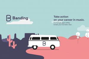 Nowa aplikacja dla artystów – sprawdź, jak działa Banding