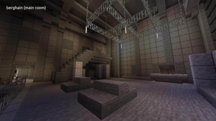 Minecraft Berghain