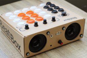 BeatBox czyli perkusja w tekturowym pudełku