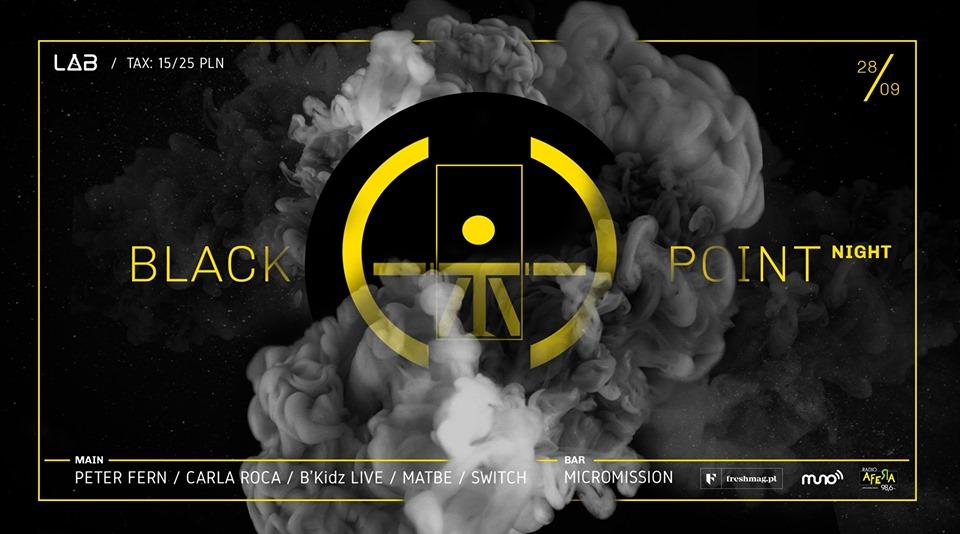 black point night
