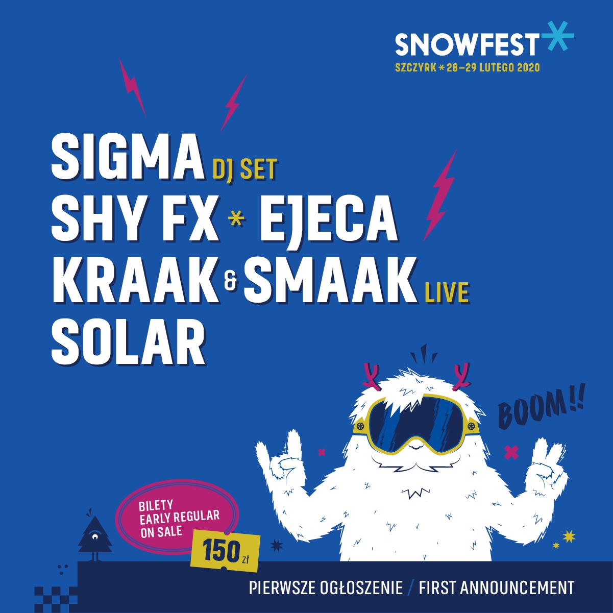 snowfest 2020 pierwsze ogłoszenie