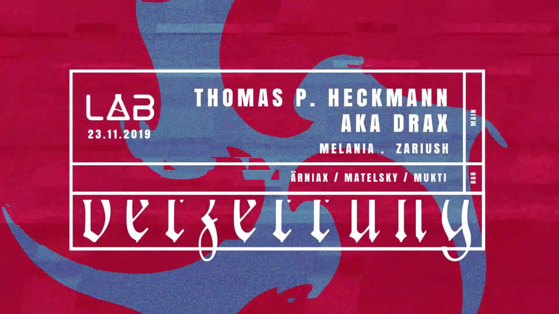 Verzerrung: Thomas P. Heckmann aka DRAX