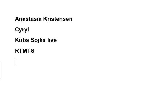 Anastasia Kristensen w 999