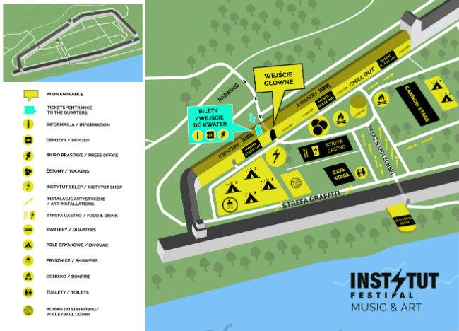 Instytut 2020 - mapa festiwalu