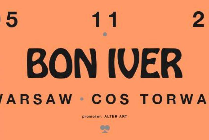 Bon Iver | COS Torwar, Warszawa, 5.11.2020