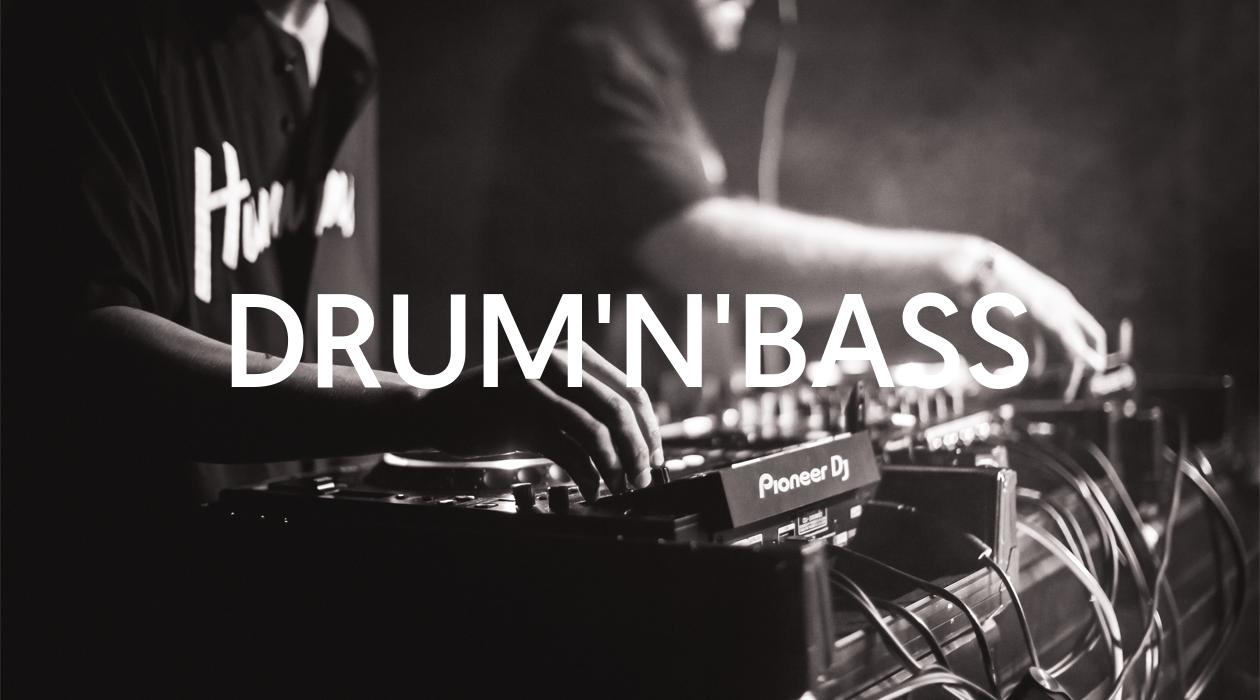Drum'n'bass - playlista Muno na Spotify