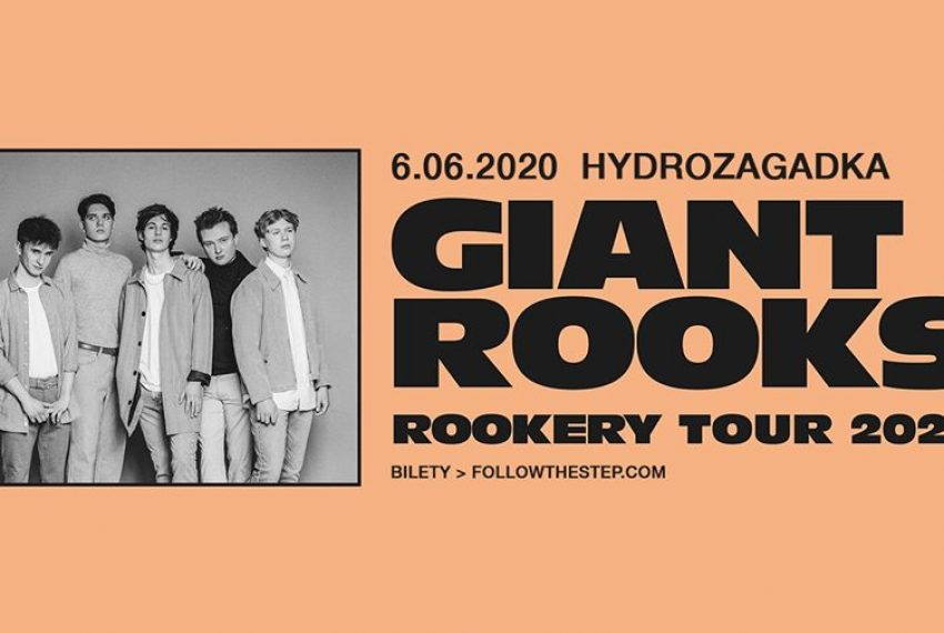 Giant Rooks / Warszawa / Klub Hydrozagadka