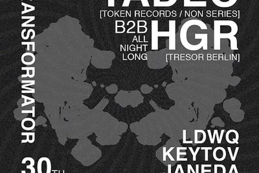 TADEO | b2b HGR | ALL NIGHT LONG! [zmiana daty]