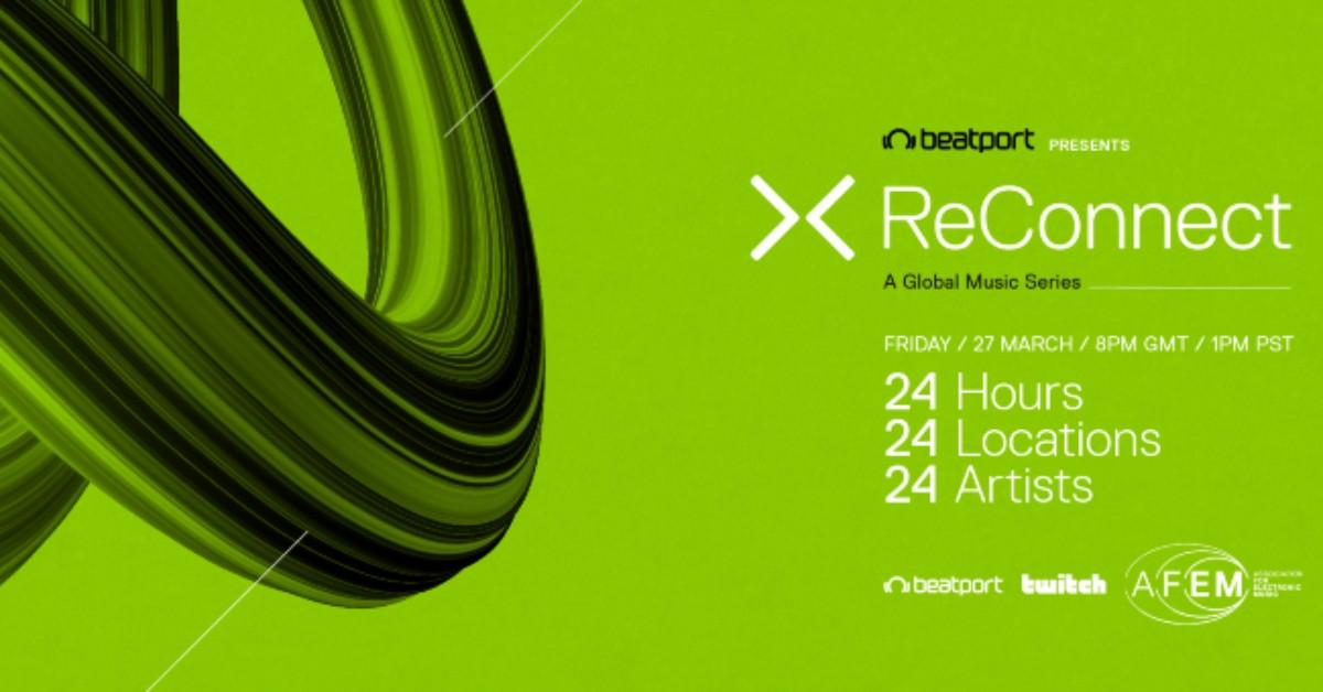 Beatport ReConnect – już dziś 24-godzinny maraton streamów