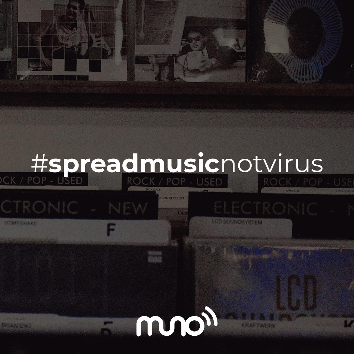 #spreadmusicnotvirus