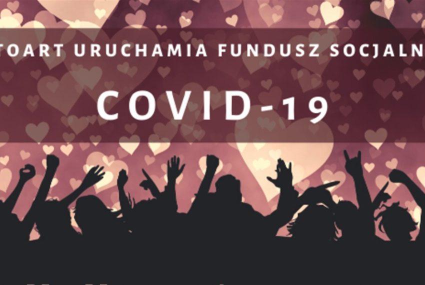 STOART tworzy Fundusz Socjalny COVID – 19 dla artystów