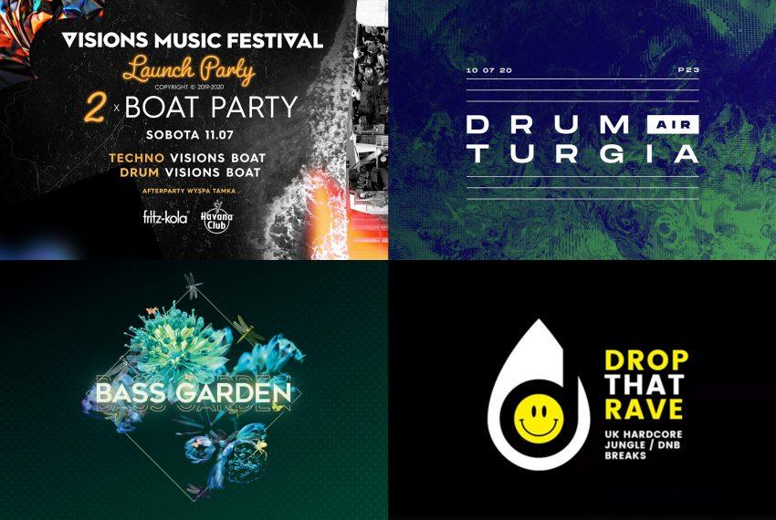 Kalendarz imprez drum'n'bass w lipcu 2020