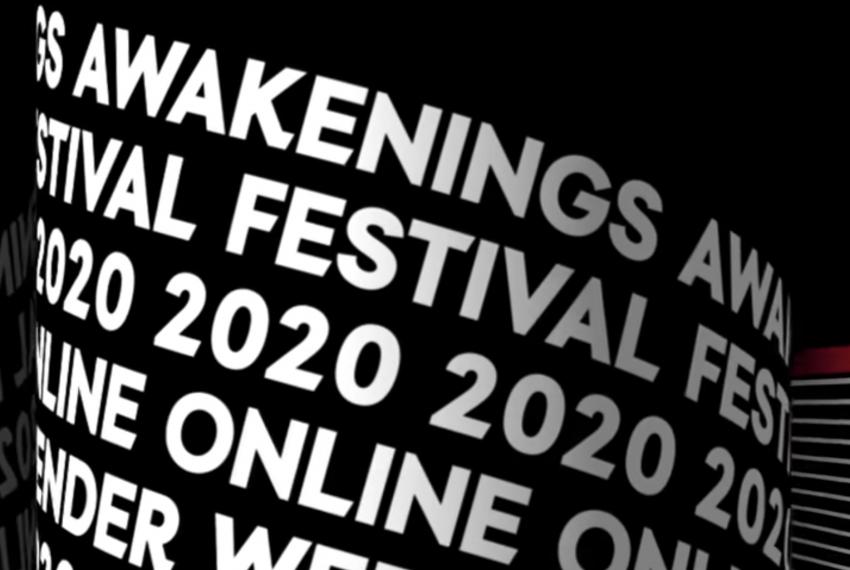 Awakenings Festival 2020 zapowiada wydarzenie online
