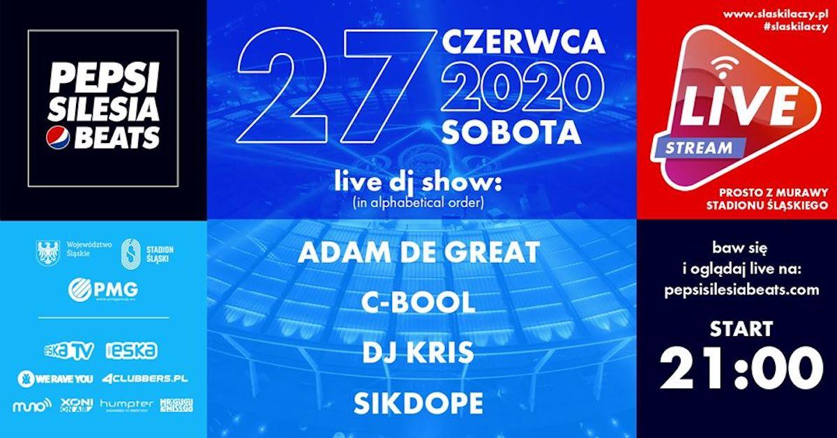 Pepsi Silesia Beats nadaje ze Stadionu Śląskiego