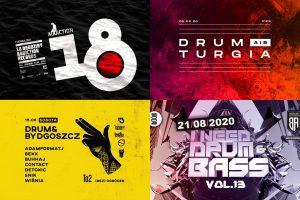 Kalendarz imprez drum'n'bass w sierpniu 2020