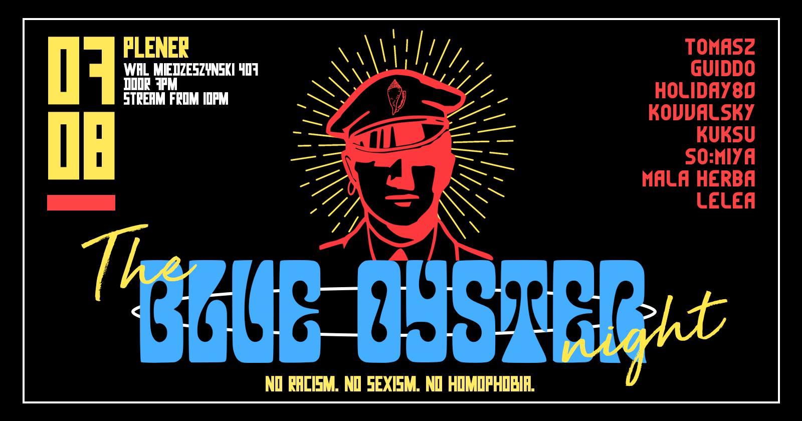 The Blue Oyster PLENER