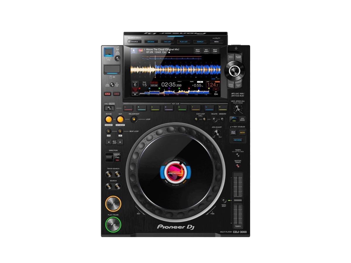 Koncept i prezentacja nowego CDJ3000 Nexus od Pioneera