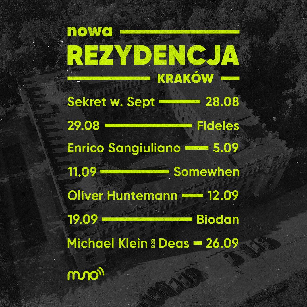 Nowa Rezydencja w Krakowie - wydarzenia we wrześniu 2020