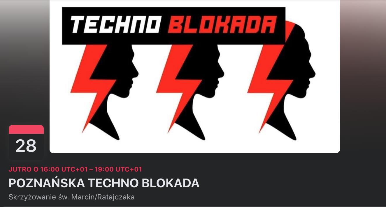Techno Blokada - Poznań